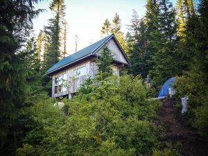 Elk Lake Hut