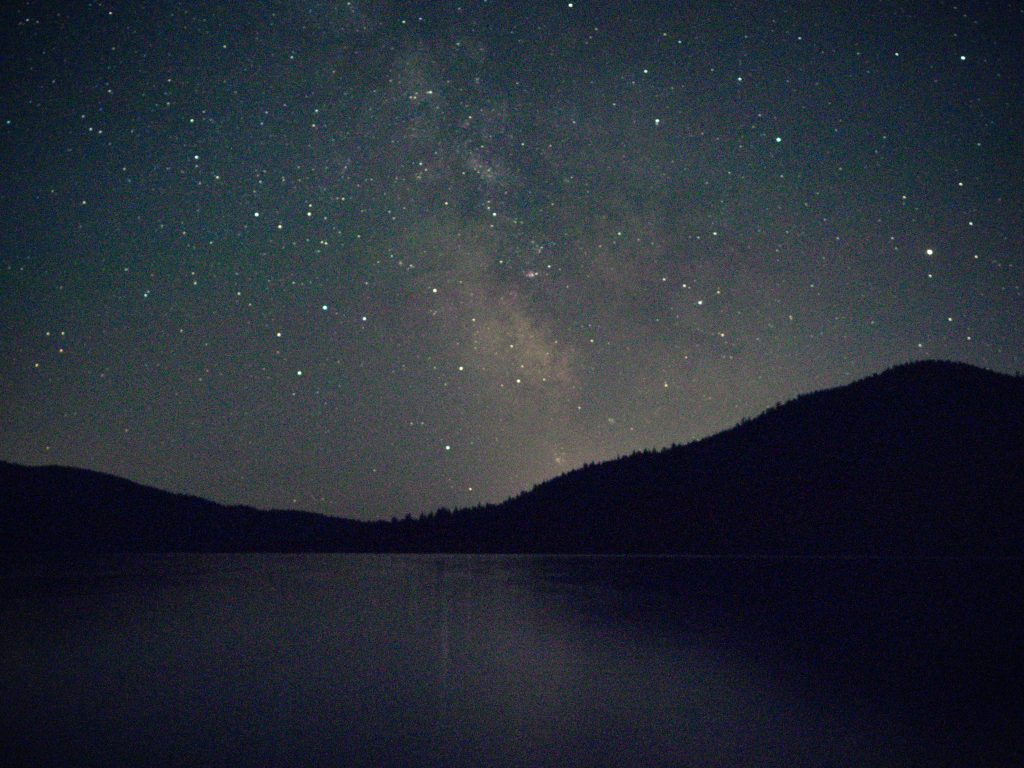 Starry night at Inland Lake